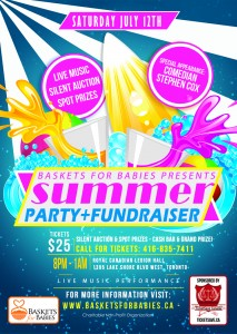 Summer party and fundraiser